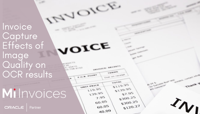 Mi Invoices OCR enables Oracle Invoice Automation
