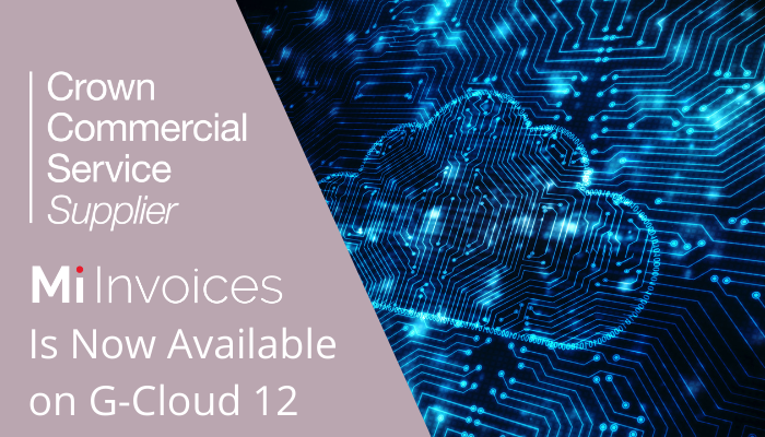 Digital Marketplace G Cloud 12 Press Release Invoice Automation is now available