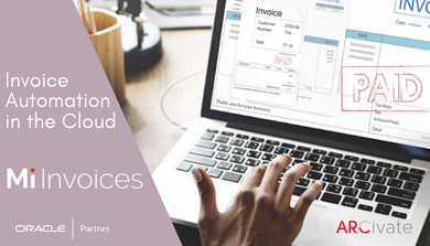 Arcivate Mi Invoices - Invoice Automation in the Cloud for Accounts Payable processes