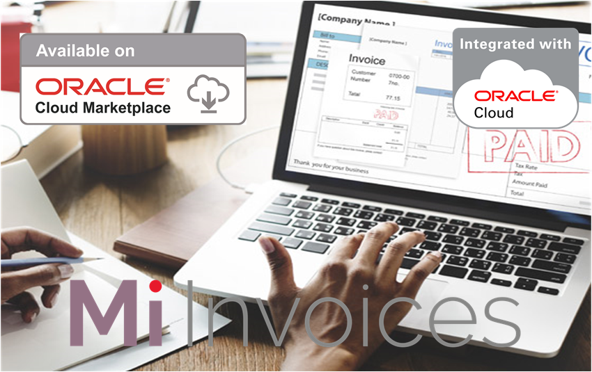 Arcivate Invoice automation integrated with Oracle ERP Cloud, EBS, JDE and PeopleSoft Paid