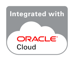 Oracle Integrated with Cloud Badge