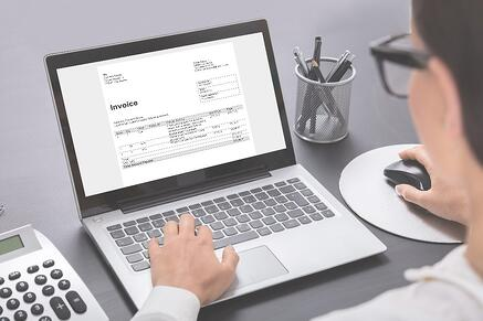 invoice capture software  image quality