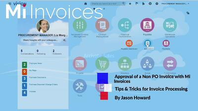 Accounts Payable - Tips & Tricks for Processing and GL Coding a Non-PO Invoice in your Oracle ERP