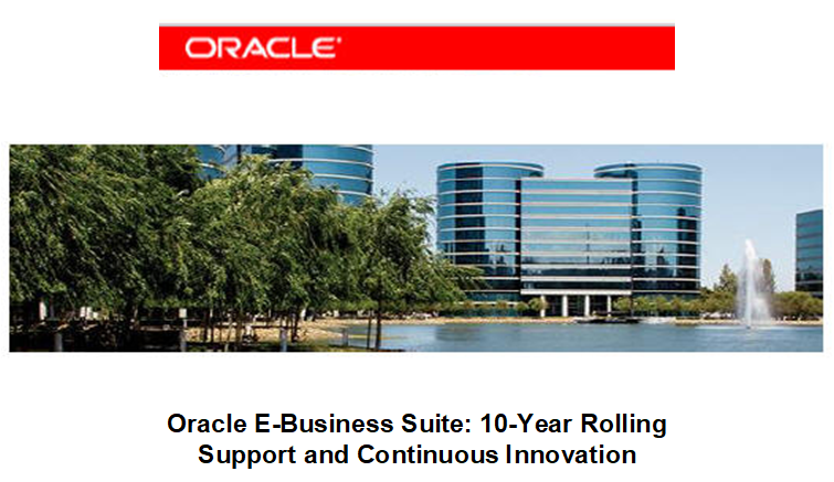 Oracle E-Business Suite R12 Strategy