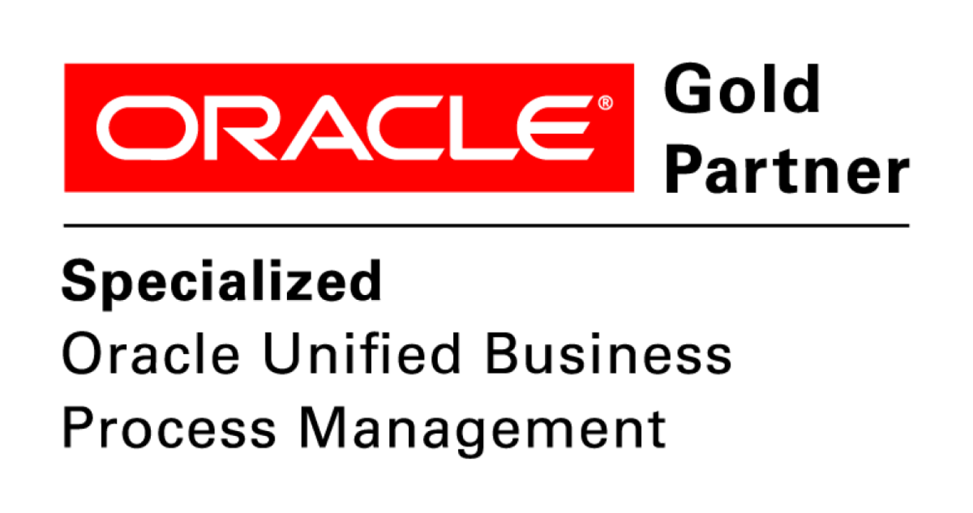 Oracle Specialized Gold Partner - Oracle Unified BPM Specilisation