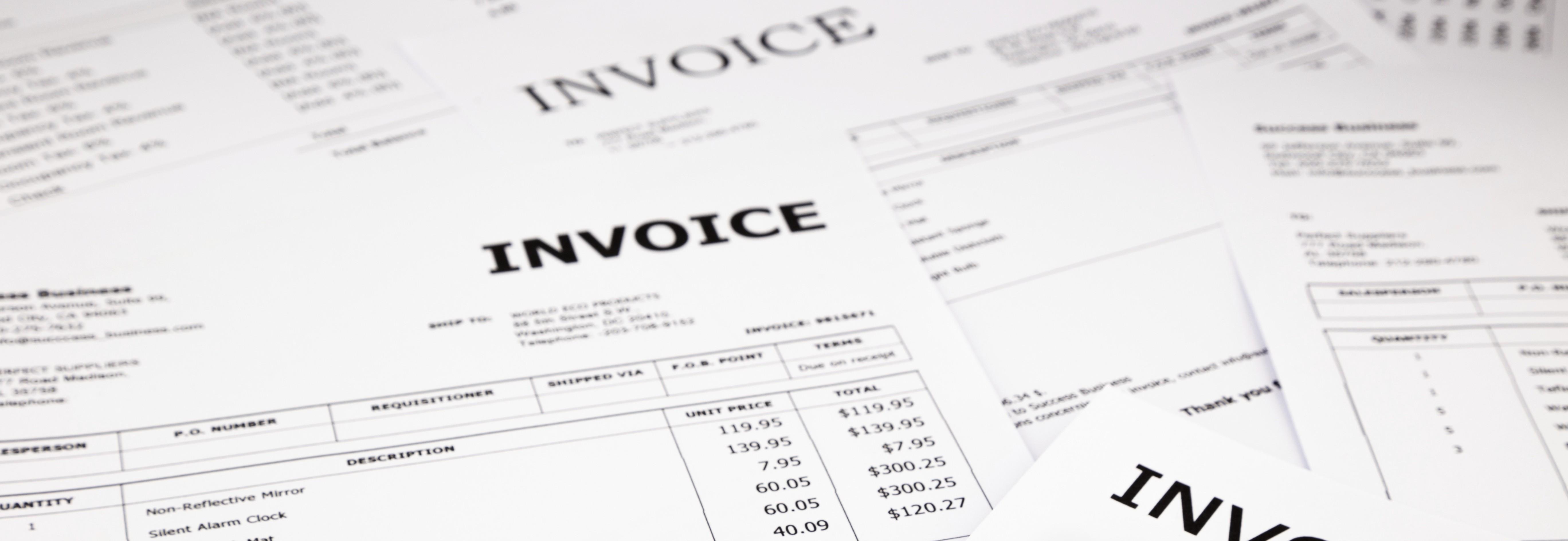 Invoice Capture Mi Invoices supports invoice capture via Paper, Email, File Transfer or EDI